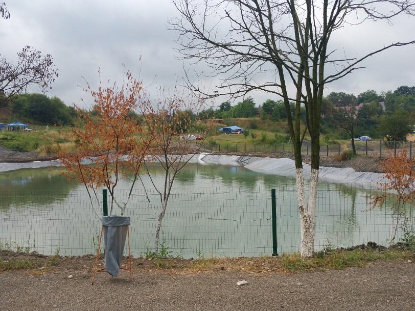 Озеро на базі Дачія