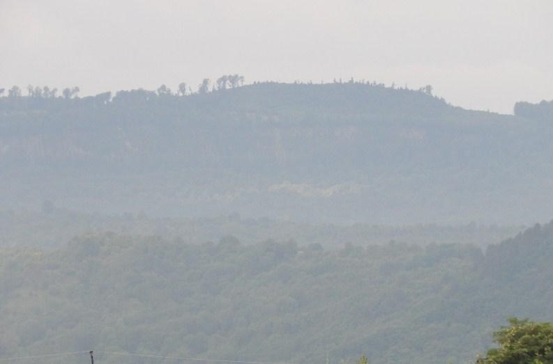 Ці гори - кордон Римської імперії