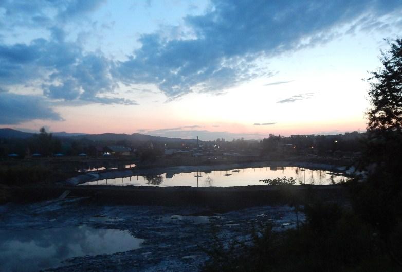 Вечірні озера