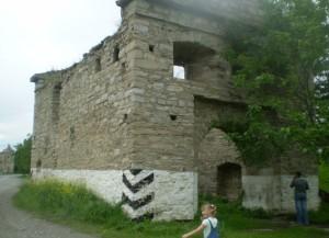 Брама фортеці в Окопах