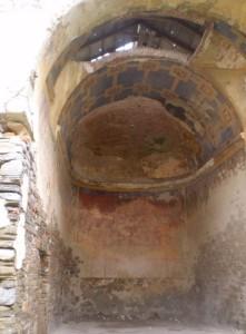Розписи в костелі Окопів