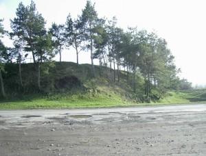 Вал і рів біля західної Львівської брами Окопів Святої Трійці