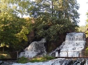 Водоспад у Червонограді