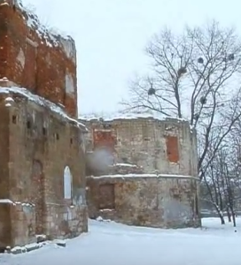 Башта замку у Бережанах