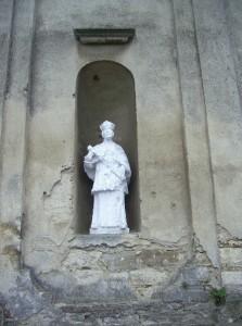 Скульптура Святого Валентина у Михальчі