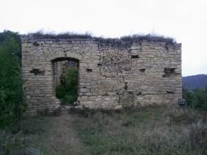 Вхід на надбрамну вежу з пристінного палацу