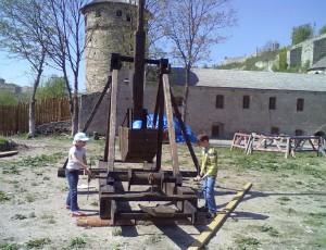 Реконструкція требуше у Кам'янець-Подільській фортеці