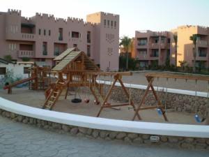 В готелях багато дитячих майданчиків - в Єгипті люблять дітей