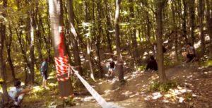 Змагання велосипедистів на Вовчинецкій горі
