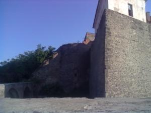Бастіон біля воріт Мукачівського замку