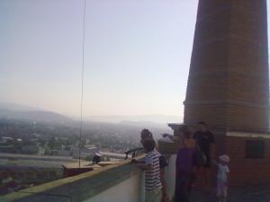 Вид з бастіону замку, оглядовий майданчик