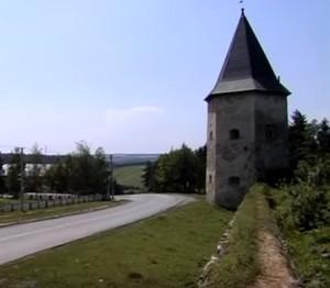 Кривче - башта та мур