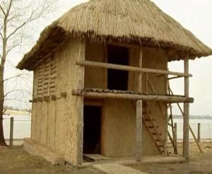 Реконструкція трипільського житла