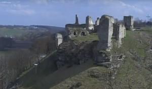 Руїни скала-подільського замку