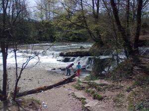 Водоспад на ріці Сукіль у Бубнищі