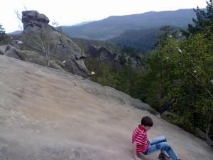 Скелі Довбуша в Бубнищі