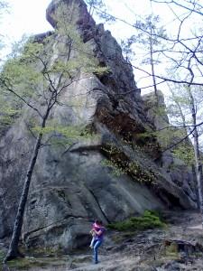 Скеля у Бубнищі