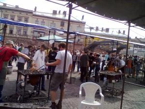 Свято ковалів в Івано-Франківську