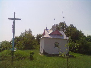 Капличка в урочищі Городище в Одаєві