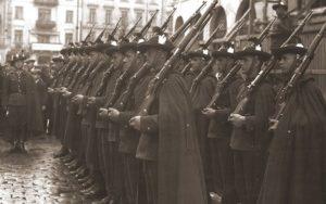 Австрійські війська на вулицях Коломиї