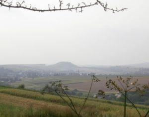 Чортова гора біля міста Рогатин