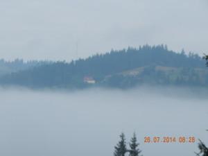 Карпати в Тумані, Ворохта