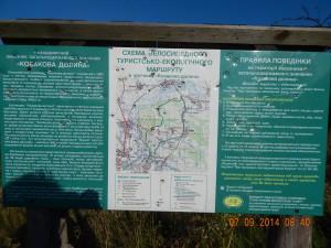 Велосипедні маршрути у Козаковій долині