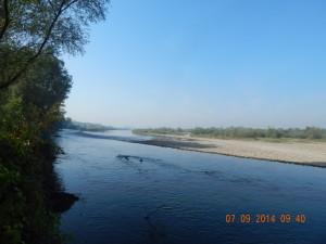 Ріка Бистриця біля Ямниці