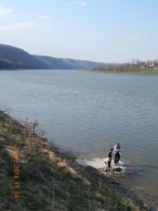 Рибалка на Дністрі біля Незвиська