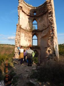 Башта Червоноградського замку, що обвалилася в 2014 році