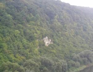 Дністровська скеля поблизу Городенки