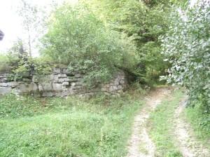 Фортечні стіни Миколаївської церкви у Чесниках