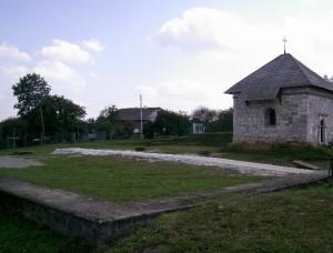 Фундаменти Успенського собору і каплиця святого Василія в Крилосі