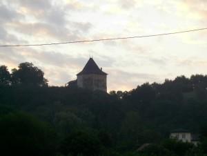 Галицький замок до завершення реконструкції