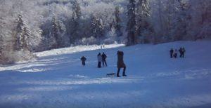 Гора Михалкова зимою