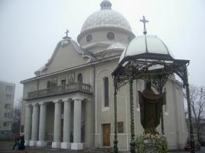 Греко-католицька церква святого Івана Богослова 1742 року в місті Богородчани