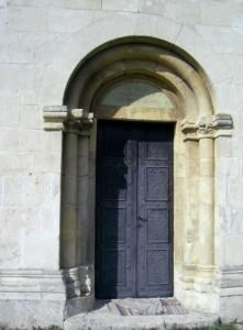 Кам'яний портал храму Пантелеймона ХІІ століття