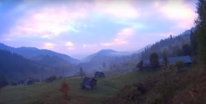 Карпати біля села Бистрець