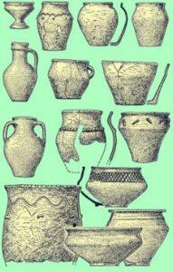 Кераміка культури карпатських курганів