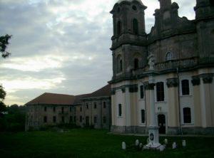 Костел Непорочного Зачаття Діви Марії та монастирські споруди у місті Городенка