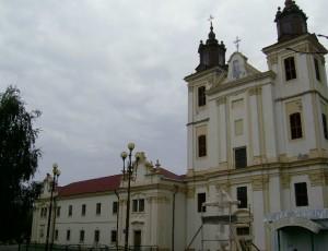 Костел і монастирські споруди у Богородчанах