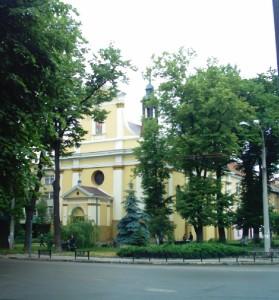Костел на вулиці Грюнвальдській, тепер - православна церква