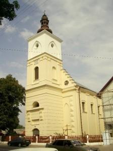 Костел у Бурштині