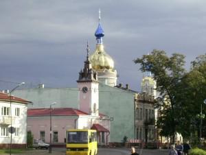 Мініатюрна ратуша в Болехові