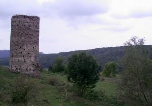 Місце, де був замок у селі Раковець