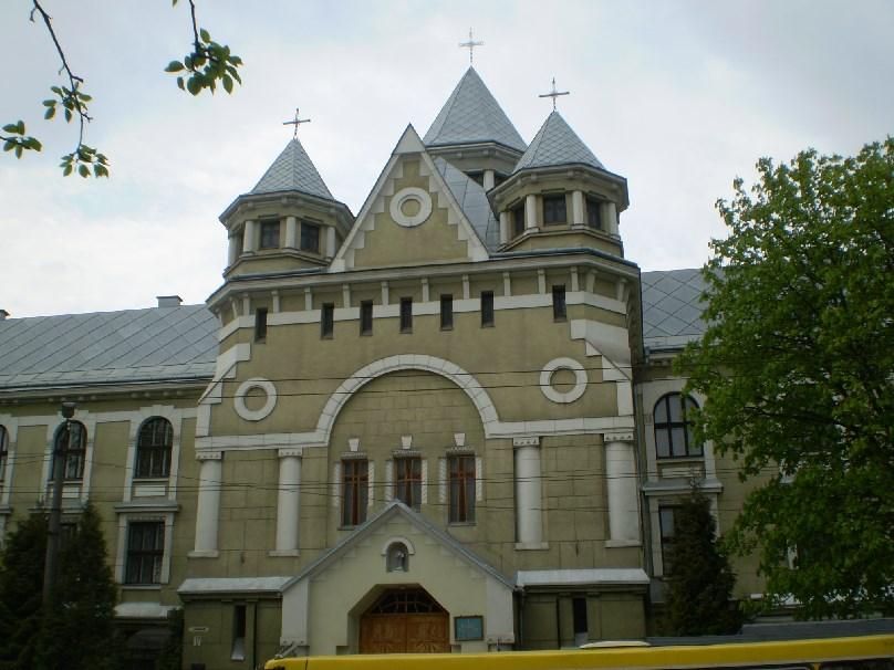 "Результат пошуку зображень за запитом ""Франківськ монастир василіянок"""