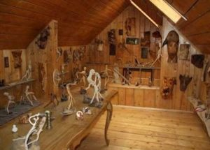 Музей лісової скульптури у Яблунові