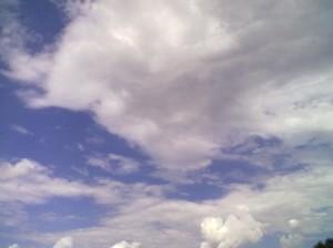 Небо над Івано-Франківськом