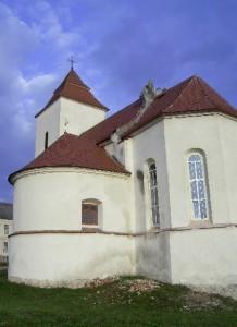 Оборонний костел святого Станіслава у селі Липівка, колишнє місто Фірлеїв