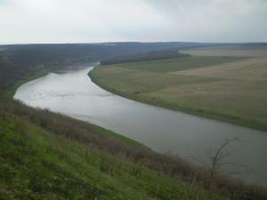 Дністер біля Монастирка і Петрилова